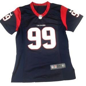 Nike #99 Houston Texans NFL Nike On Field Jersey M